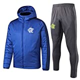 MVNTOO Club de fútbol Europeo, Camiseta de fútbol para Hombre, Camiseta de Entrenamiento Hecha por Fans.133-azul_L