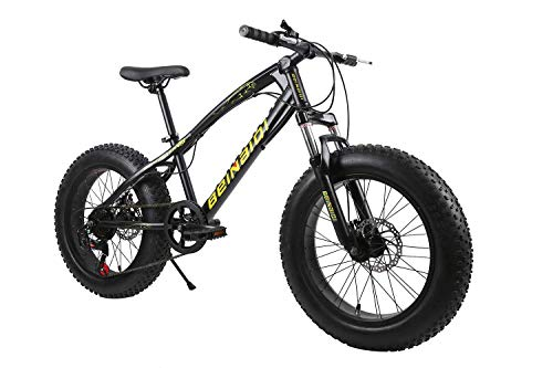 BIKE Mountain Bike,Fat Bicycles - 26 Inch, Dual Disc Brakes, Wide Tires, Adjustable Seats Green-27Speed,21Speed