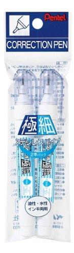 ぺんてる ペン修正液 ZL61 2本 XZL61-W2