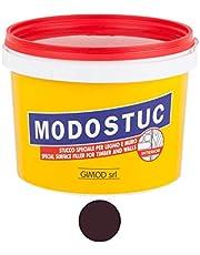 MODOSTUC ebenano – professionele plamuurmassa, klaar voor gebruik binnenshuis, ideaal voor hout en muur, sneldrogend en perfecte hechting, 1 kg.