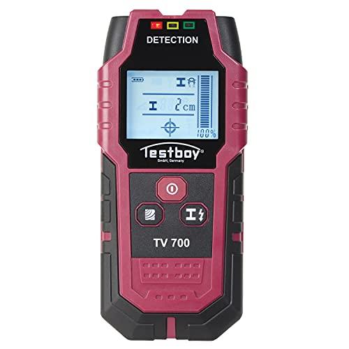 Testboy TV 700 - Digitaler Wandscanner rot-schwarz