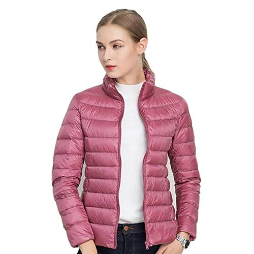 YRFHQB Winter Coat Ultra Light 90% Down Jacket Vrouwen Dunne Vrouwelijke Slim Warm Jacket Winddicht Down Coat