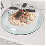 BYFRI New Food Spritzschutz Mikrowelle Hover Anti-Sputtering-Abdeckung Ofen Öl-Kappe Beheizte Siegelplastikabdeckung Geschirr Geschirr Lebensmittel Abdeckung