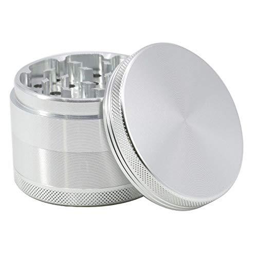 HDGAE kruidenmolen aluminium legering metaal grinding verzegeld haar geschikt voor keuken koken 4 lagen diameter 63 mm
