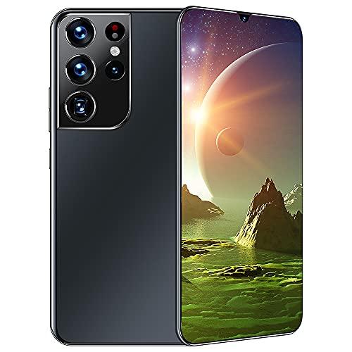 TYX Telefono Cellulare Android 11, Schermo HD + Goccia d'Acqua da 6,7 Pollici Batteria di Grande capacità da 6800 mAh, Octa-Core 3GB 32GB, Memoria 12+512, Smartphone Dual-SIM 4G,Nero