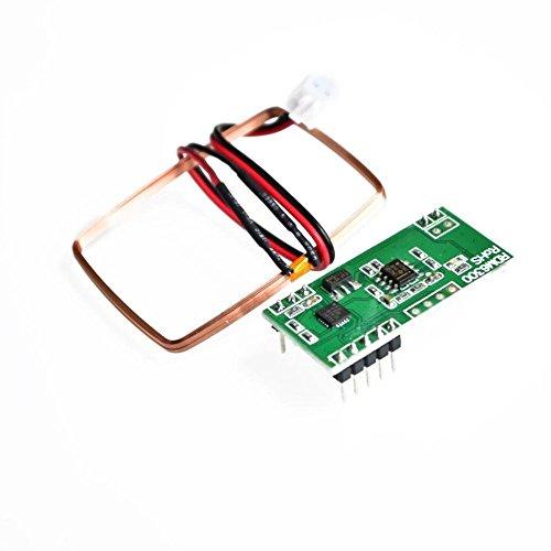 DollaTek RDM6300 125Khz EM4100 RFID Leser Modul UART Ausgabe Zutrittskontrollsystem für Arduino