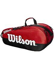 Wilson tennis racket väska matlag, upp till 6 racket