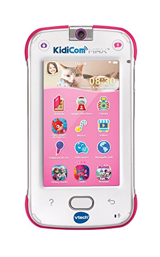 VTech- Dispositivo multifunción Kidicom MAX, Color Rosa (3480-169557)