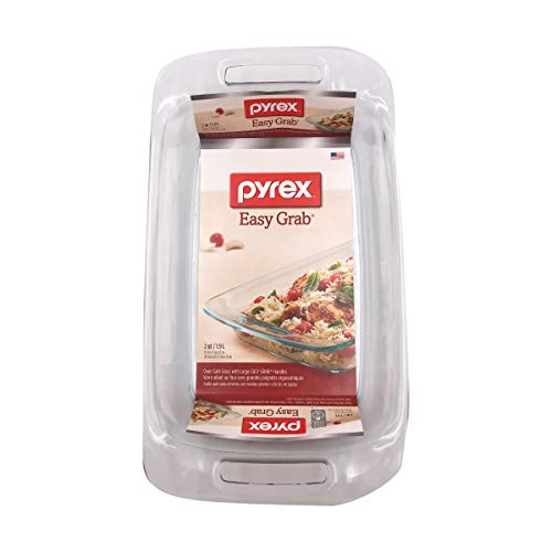 Pyrex Easy Grab 2 quart Oblong