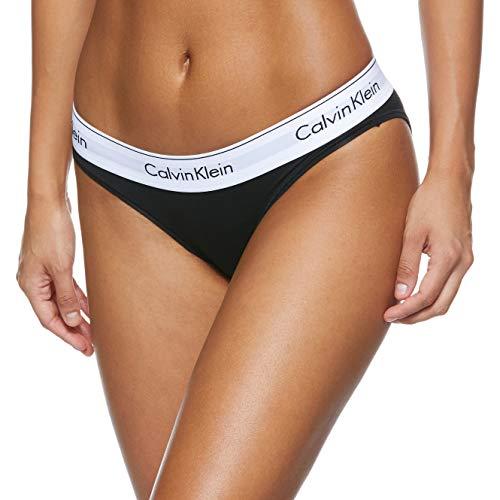 Calvin Klein Underwear Damen Bikini Slip - Modern Cotton, Schwarz (Black 001), XS