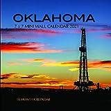 Oklahoma 7 x 7 Mini Wall Calendar 2021: 16 Month Calendar