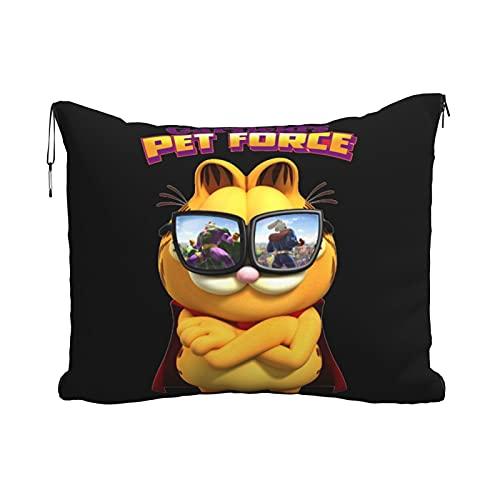 Garfieldand Pet Force - Manta de equipaje para mascotas, manta de avión, manta de conveniencia para coche