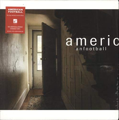 American Football - Red and Orange Vinyl