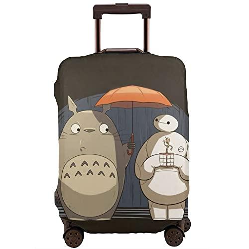 Anime My Totoro - Funda protectora para maleta (4 tamaños para la mayoría de equipaje con cremallera