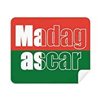 Madagascar 国旗 名前 電話 スクリーン クリーナー メガネ クリーニングクロス 2枚 スエード生地
