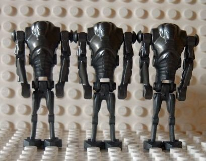 LEGO STAR WARS - 3 Minifiguren Super Battle Droid