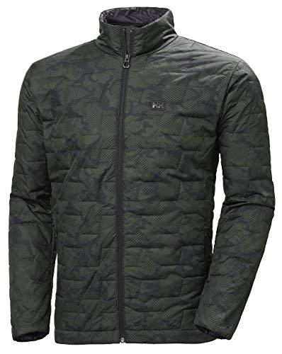 Helly-Hansen Mens LIFALOFT Insulator Jacket, 469 Forest Night Camo, Medium