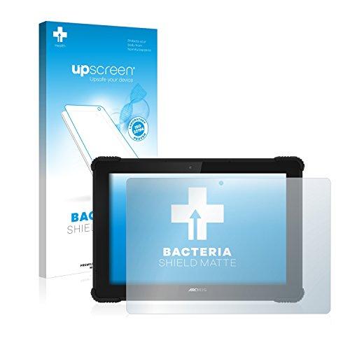 upscreen Antibakterielle Entspiegelungs-Schutzfolie kompatibel mit Archos 101 Saphir - Anti-Reflex Bildschirmschutzfolie matt, Anti-Fingerprint