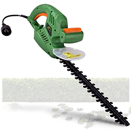 ApolloSmart Hedge Trimmer 20-Inch Corded Electric 120V 4-Amp Lightweight Lawn and Garden Landscaping