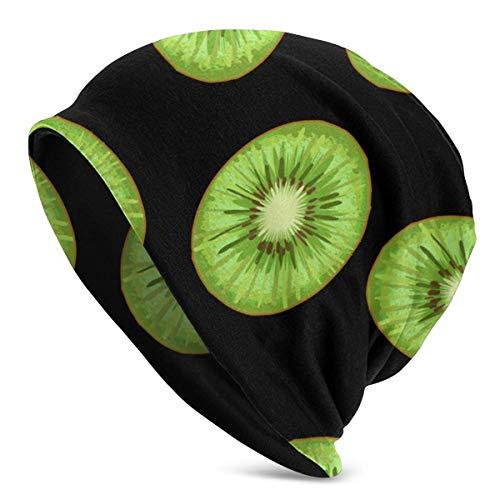 XCNGG Sombrero de Punto de Fruta de Kiwi para Hombre y Mujer, Gorros Gruesos