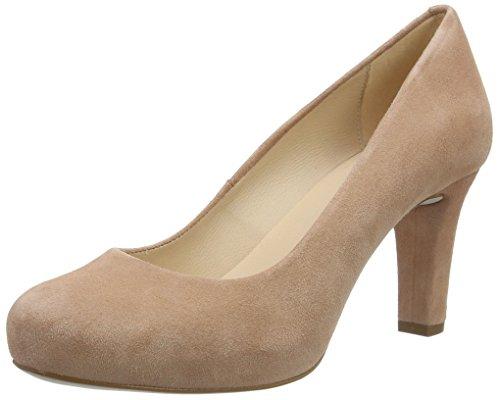 Unisa NUMIS_17_KS, Zapatos Tacón Mujer, Rosa Printemps