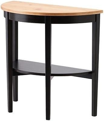 Ikea ARKELSTORP - Table de fenêtre noire - 80x40x75 cm