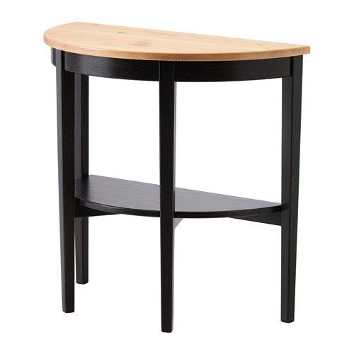 Ikea Arkelstorp - Mesa de la Ventana, Negro - de 80x40x75 cm