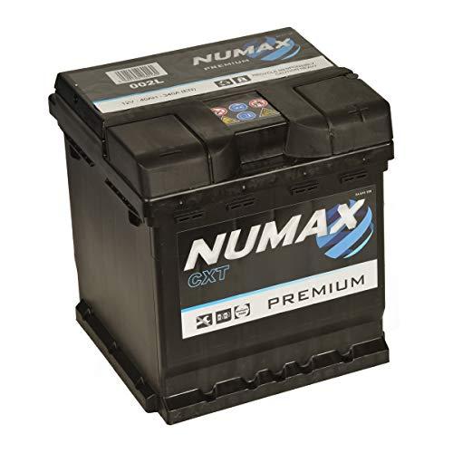 Numax Premium 002L Batterie Voitures, 12V 45Ah 400 Amps (En)