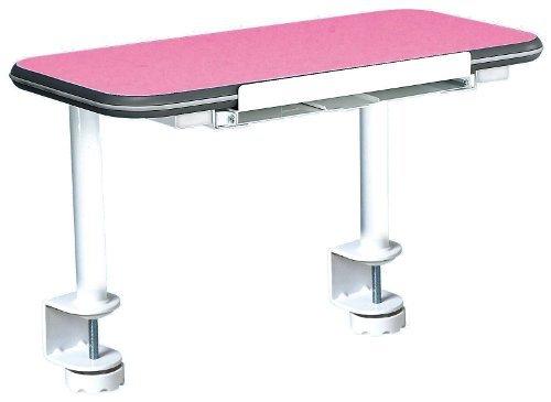 hjh OFFICE Buerostuhl24 601012 Zusatz-Ebene zu Schreibtisch Teeny 601010, weiß/rosa