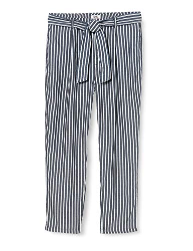 Tommy Jeans Mujer Tjw Fluid Bow Detail Pant Pantalones, Blanco (W28 / L34
