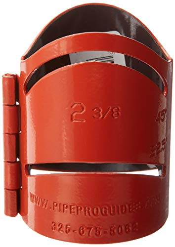 Pipe Pro Metal Cutting Guide - 2-3/8' - Red