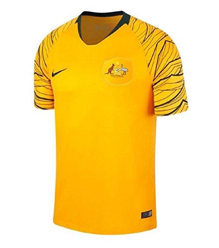 Nike Herren Australien WM 2018 Heimtrikot, gelb, S-40/42