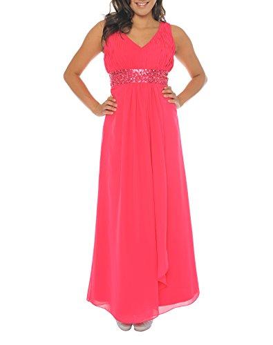 Astrapahl Damen br09111ap Kleid, Rosa (pink), 34