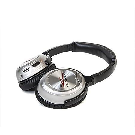 Solitude Noise Cancelling Headphone (XCS2, Silver)