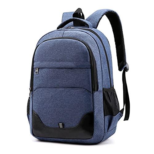 Mochilas Laptops de Gran Capacidad Ocio Ocio Travel Equipaje (Color : Blue, tamaño : One Size)