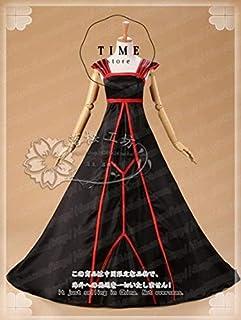 コスプレ衣装 Fate/Zero アイリスフィール 黒化版 ドレス ワンピース 礼服 コスチューム