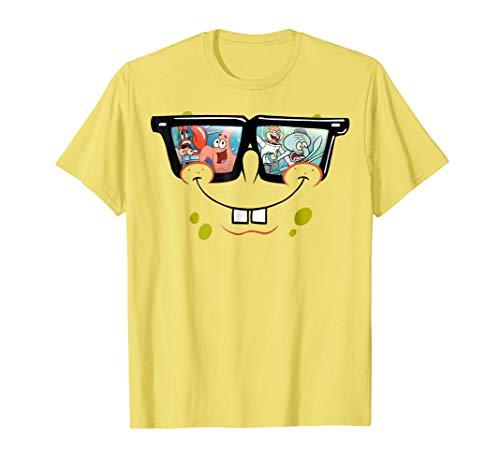 Spongebob SquarePants Sunglasses Reflection T-Shirt