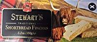 Stewarts Traditional Scottish Shortbread Fingers 150g - Highland Cow