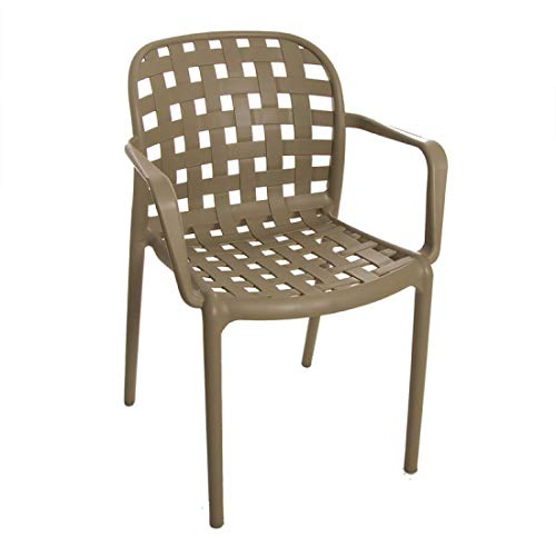 Home Gadgets Stackable Chair Natural 82 cm
