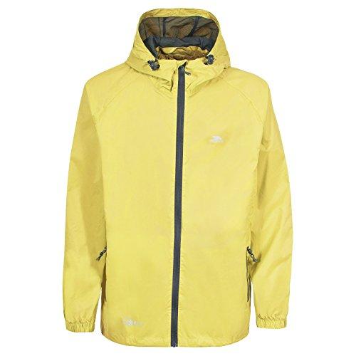 Trespass Qikpac Jacket Vestes Coupe-Pluie Homme, Jaune, 11/12