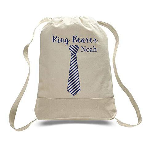 Ring Bearer Gift Bag Ring Bearer Rugzak Ring Beer Beveiliging Bruiloft Dag Gift Tassen Hotel Tassen voor gasten