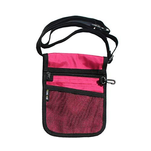 qingqingR Fanny Pack Organizador de cinturón de enfermería para Mujer Bolso de Cintura de Enfermera Bolsa de Hombro