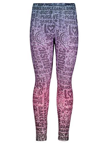 Jojo Siwa Big Girls Fashion Leggings 10/12 Rainbow