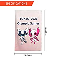 Xmbeirui 2021オリンピック旗 大日本帝国旗 Flag スポーツ用品 ポリエステル繊維素材 防水生地 装飾旗 旗 ガーデンフラッグ(30x45)オリンピック競技 Olympic Games2021qdz115