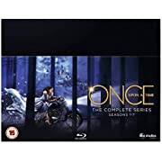 Once Upon A Time Complete Seasons 1-7 Box Set [Blu-ray] [2018]