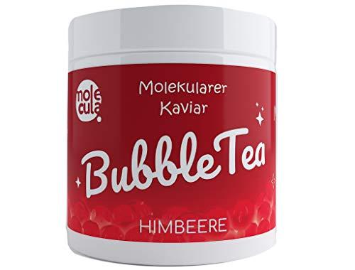 Bubble Tea Popping Boba Weniger Zucker Molekularer Kaviar Himbeere 800g Fruchtperlen ohne künstliche Farbstoffe