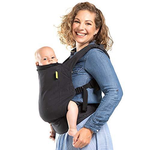Boba 4G Komfortbabytrage mit Fußstützen für große Kinder, Bauch- und Rückentrage