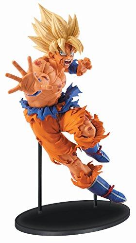 Banpresto Dragon Ball Z 8.7-Inch Goku Figure, SCulture Big Budoukai 5 Volume 1 by