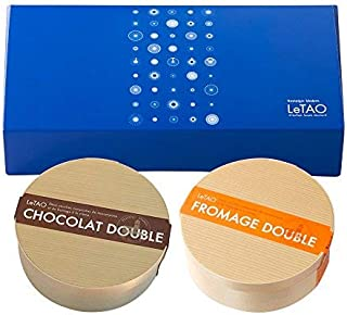 LeTAO(ルタオ) チーズケーキ ドゥーブルセット(ギフト ボックス入り)各4号×2個セット