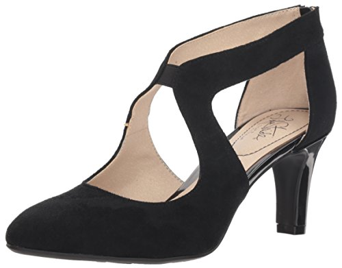 LifeStride Women's Giovanna 2 Pump, Black, 8 W US